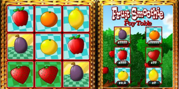 Fruit Smoothie Scratch Card MCPcom OpenBet2