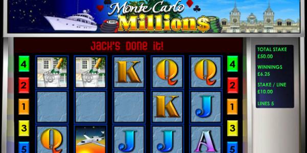 Monte Carlo Millions MCPcom OpenBet win