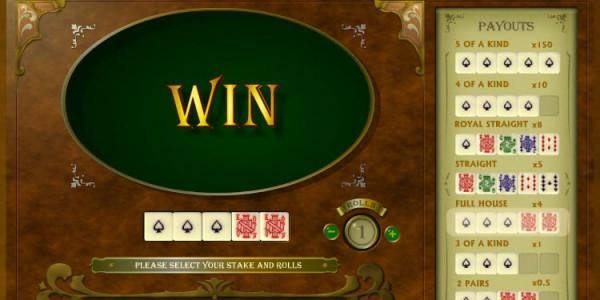 Poker Dice MCPcom OpenBet2
