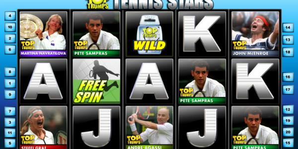 Top Trumps Tennis Stars  MCPcom OpenBet