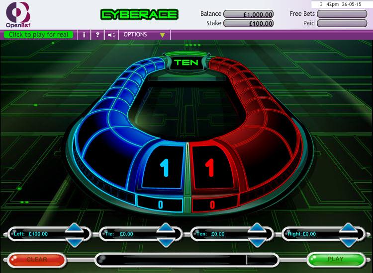 Cyberrace MCPcom OpenBet