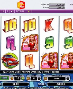 The Price Is Right MCPcom OpenBet