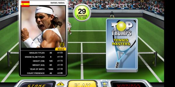 Top Trumps Tennis Classic MCPcom OpenBet
