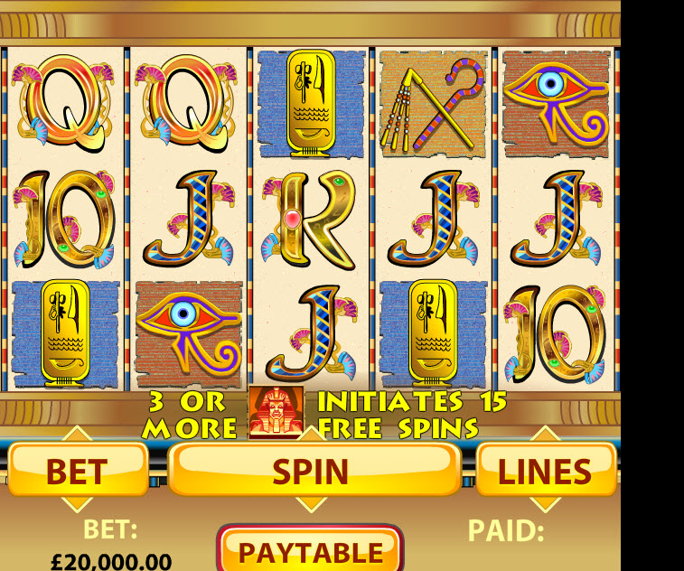 Mini Cleopatra Slot MCPcom OpenBet