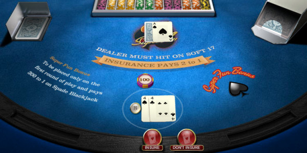 Blackjack Super Fun 21 MCPcom OpenBet2