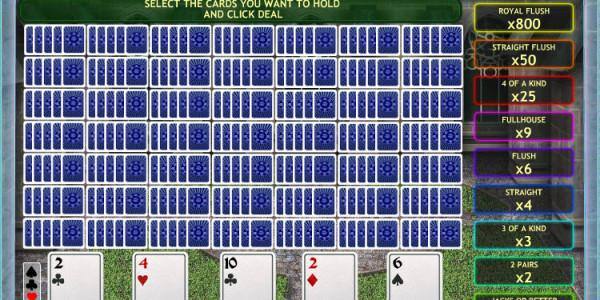 Jacks or Better 50 Hand MCPcom OpenBet2