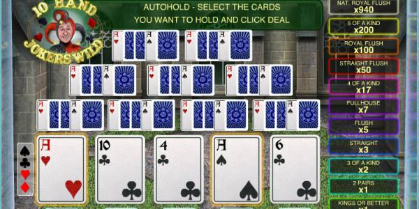 Jokers Wild 10 Hand MCPcom OpenBet2