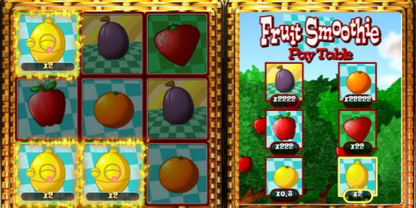 Fruit Smoothie Scratch Card MCPcom OpenBet3