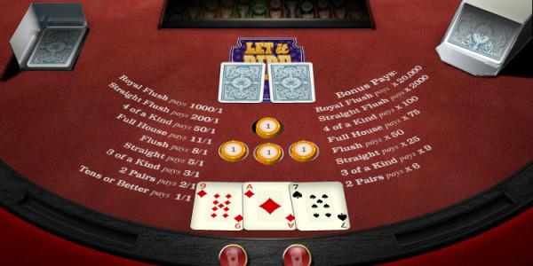 Let it Ride Poker MCPcom OpenBet2