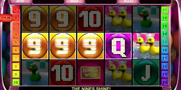 Bingo Slot  MCPcom OpenBet win