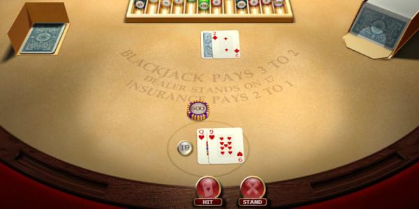 Blackjack Standard Hand Hi Roller MCPcom OpenBet2