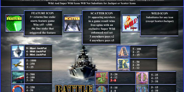 Battle of the Atlantic MCPcom OpenBet PAY