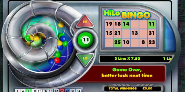 Hi Lo Bingo MCPcom OpenBet3