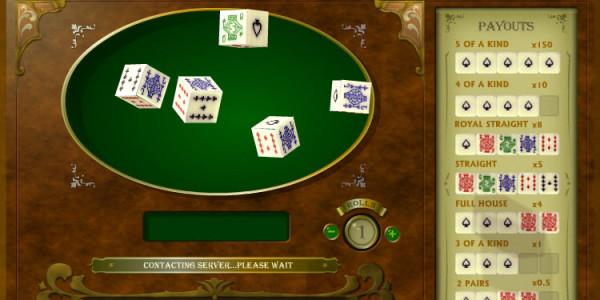 Poker Dice MCPcom OpenBet3