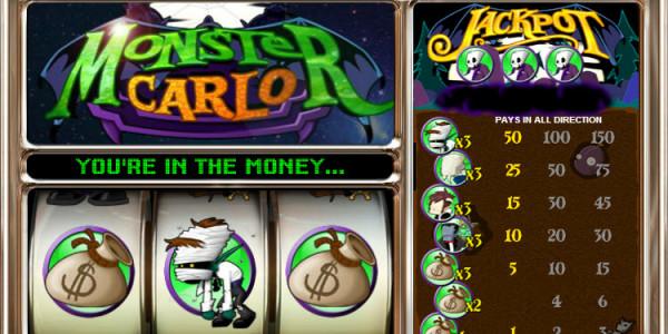 Monster Carlo MCPcom OpenBet3