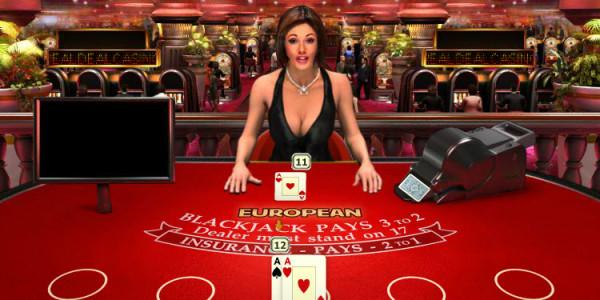 Real Deal Blackjack Euro Five Hand MCPcom OpenBet2