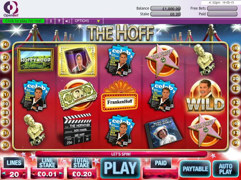 The Hoff Slot MCPcom OpenBet