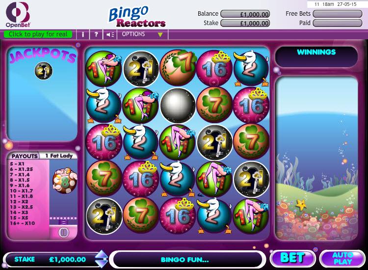 Bingo Reactors MCPcom OpenBet