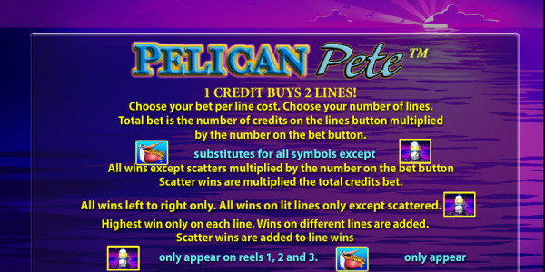 Pelican Pete MCPcom OpenBet pay2