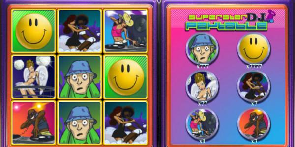 Super Star DJ Scratch Card MCPcom OpenBet3