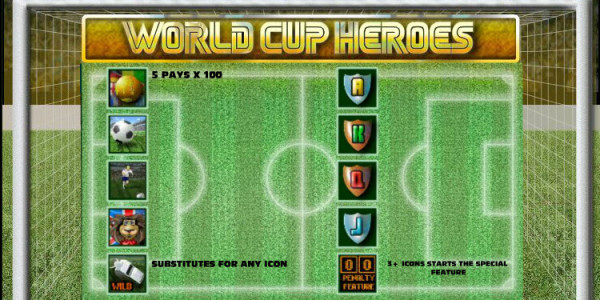 World Cup Heroes MCPcom OpenBet pay