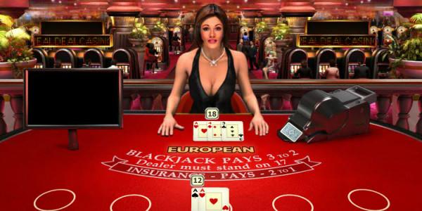 Real Deal Blackjack Euro Five Hand MCPcom OpenBet3