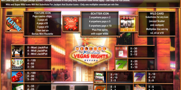 Vegas Nights MCPcom OpenBet pay