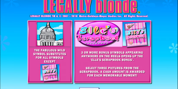 Legally Blond Slot MCPcom OpenBet pay2