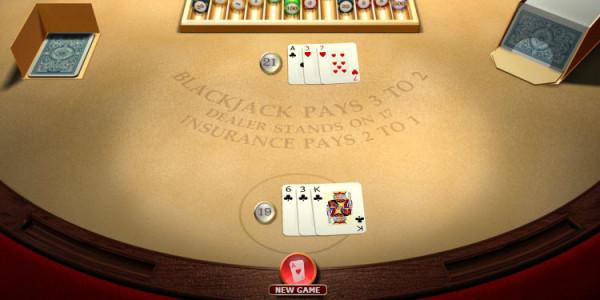 Blackjack Single Hi Roller MCPcom OpenBet3