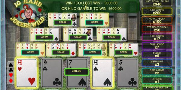 Jokers Wild 10 Hand MCPcom OpenBet3