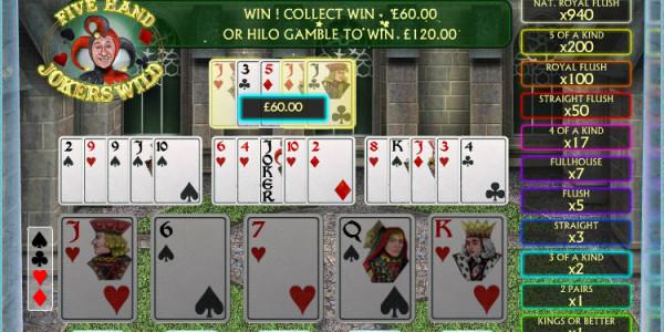 Jokers Wild 5 Hand MCPcom OpenBet3