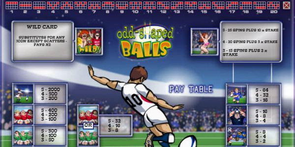 Odd Shaped Balls MCPcom OpenBet pay