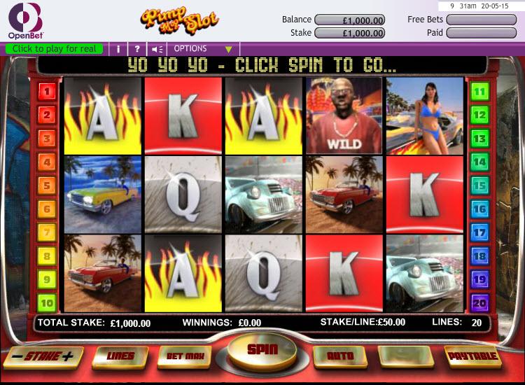 Pimp My Slot MCPcom OpenBet