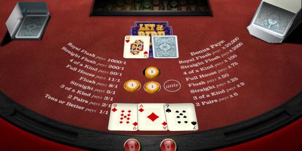 Let it Ride Poker MCPcom OpenBet3