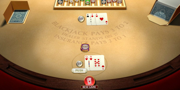 Blackjack Standard Hand Hi Roller MCPcom OpenBet3