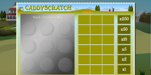 Caddy Scratch MCPcom OpenBet