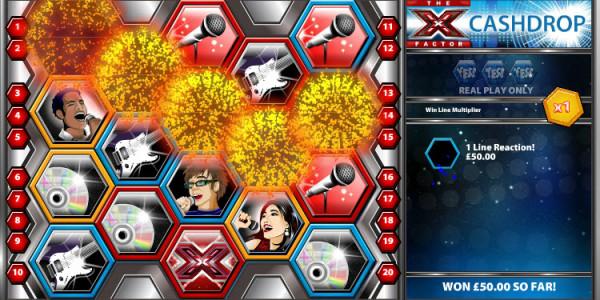 X-Factor Cashdrop MCPcom OpenBet win