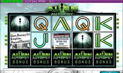 Alien Autopsy MCPcom OpenBet