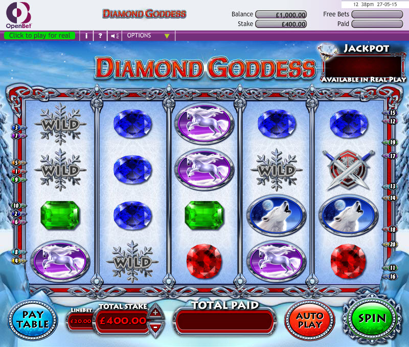 Diamond Goddess MCPcom OpenBet