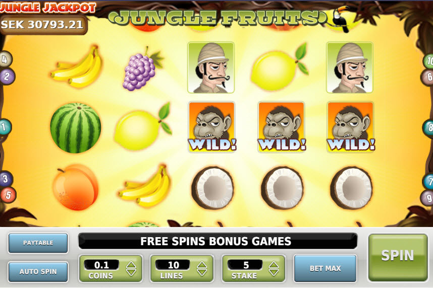 Jungle Fruits MCPcom OmiGaming