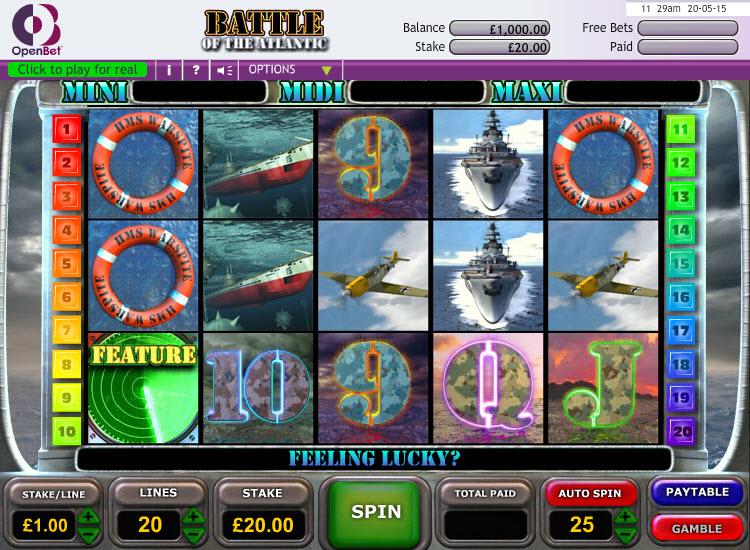 Battle of the Atlantic MCPBattle of the Atlantic MCPcom OpenBetcom OpenBet