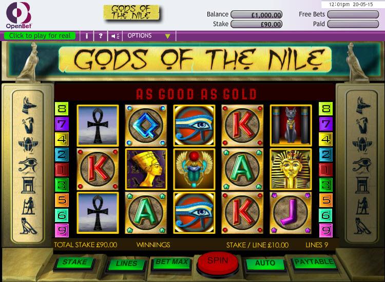 Gods of the Nile MCPcom OpenBet