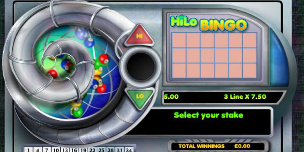 Hi Lo Bingo MCPcom OpenBet