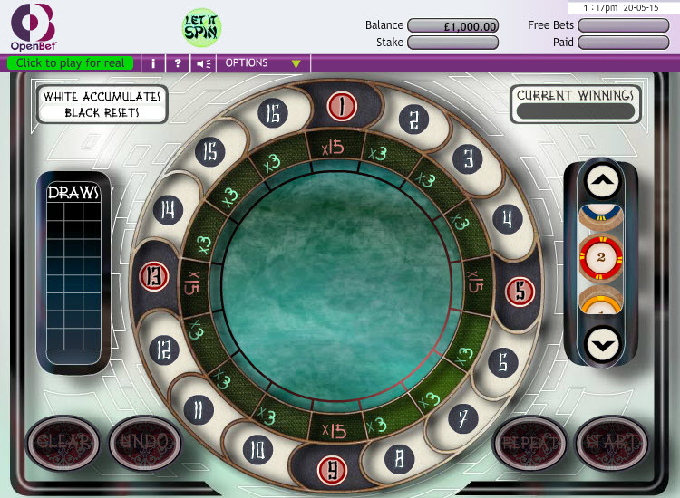 Let it Spin MCPcom OpenBet