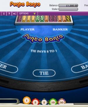 Punto Banco MCPcom OpenBet