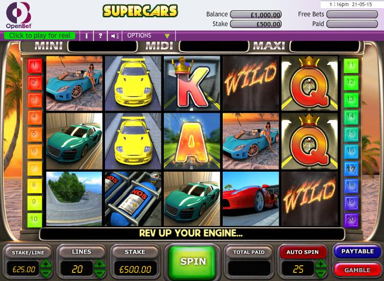 Supercars MCPcom OpenBet