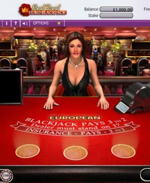 Real Deal Blackjack Euro Five Hand MCPcom OpenBet