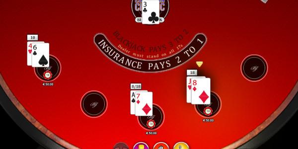 Multi Hand Blackjack MCPcom Oryx Gaming2