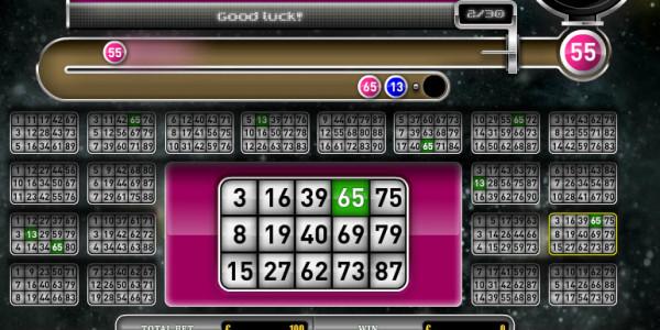 Deep Space Bingo MCPcom Oryx Gaming2