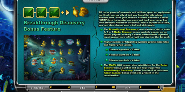 Mission Atlantis MCPcom Oryx Gaming pay2